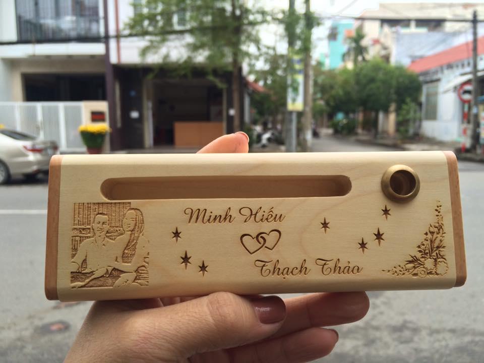 Bút gỗ khắc tên tại Đà Nẵng - Quà tặng yêu thương